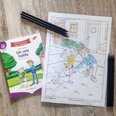 """[JEUDI COULISSES]  Pendant les vacances, les Alphas font des activités mais aussi du coloriage ! Après avoir lu les nouveautés de la collection """"Apprendre à lire avec LES ALPHAS"""" que sont """"Petit Malin va à la pêche"""" (Début CP) et """"Un animal fantastique"""" (Milieu CP), ils ont eu envie de relire tous les titres de la collection !  Ainsi, l'illustrateur de la collection @thomas.tessier.7 leur a proposé un joli coloriage tiré du livre """"Un ami fidèle"""" (Début CP).  Une jolie illustration que les Alphas vont prendre plaisir à colorier mais aussi les enfants ! N'hésitez pas à partager sur les réseaux leurs futures réalisations.  Pour le télécharger et en découvrir d'autres, RDV sur notre site www.editionsrecrealire.com, onglet LES ALPHAS > LES RESSOURCES > Coloriages.  #lesalphasofficiel #lesalphas #methode #lecture #recrealire #editionsrecrealire #edition #pedagogie #apprendre #maison #lire #enfant #activite #coloriage #ami #livre #art #chien"""